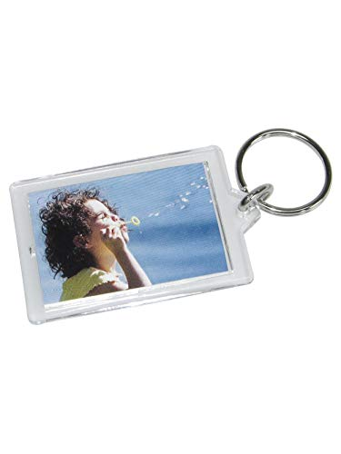 Schlüsselanhänger für ein Foto aus Acryl
