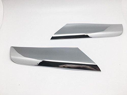 (2) chrom Formen Grill Gitter Lamelle Verkleidung für 2009–2011 SLK R171