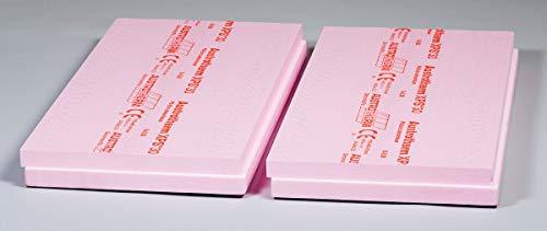 XPS Platten Dämmplatte Dämmung 40 mm - 7,50 m2 / Paket - 300 KPA extrem druckfest Perimeterdämmung