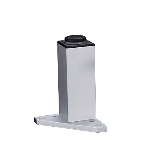 Möbelstützbeine, hochwertige Aluminiumlegierung, rutschfest und verschleißfest, geeignet für Sofas, Couchtische, Schränke und andere Möbel/A / 150mm