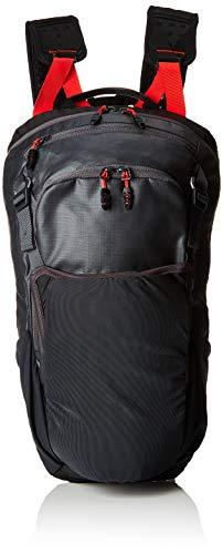 adidas Unisex-Erwachsene TX Cross Trail Rucksack, Grau (Carbon/Negro/Rojsol), 24x36x45 Centimeters (W x H x L)