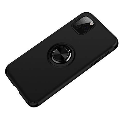for iPhone 11 Pro Max 6.5inch Case with Ring Holder Stand Magnetic Car Mount Cover Case Shell Compatible for iPhone 11 Pro Max 6.5inch