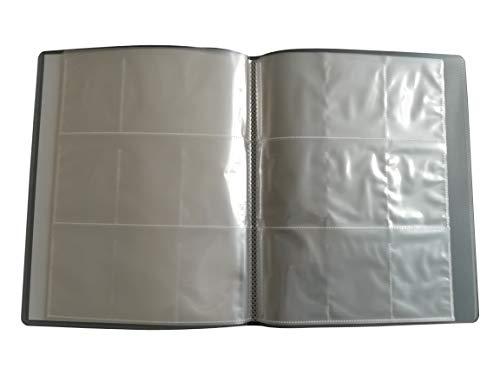 Arkero-G® Sammelmappe mit 12 Seiten (für 216 Karten) Trading Card 9-Pocket Tauschalbum / Sammelalbum Ordner - Mappe LEER