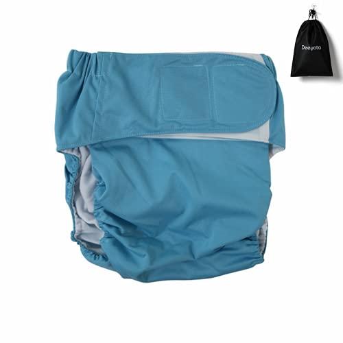 DEEYOTA 失禁パンツ 尿漏れパンツ パンツ 失禁対策に おむつ 大人用 漏れ防止 速乾性 しっかり吸水 通気性 洗える 再使用可能 福祉 失禁