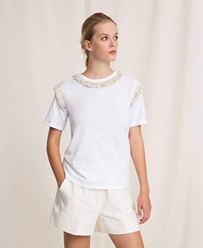 Twinset Donna T-Shirt Bianco MOD. TP2210 L