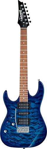 Ibanez GRX70QA-TBB GIO Series - Chitarra elettrica - trasparente Burst blu - mancini
