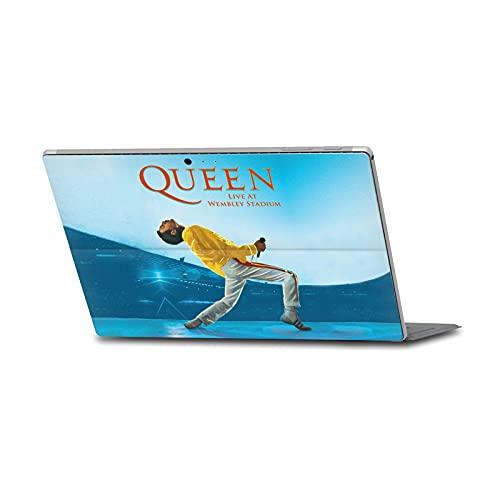 Head Case Designs Licenza Ufficiale Queen Live At Wembley Iconico Vinile Sticker Pelle Adesivo Compatibile con Microsoft Surface PRO 4/5/6