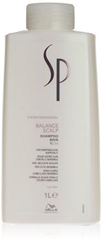 Wella SP Balance Scalp Shampoo Unisex Profesional Champú 1000 ml - Champues (Unisex, Profesional, Champú, 1000 ml, Anticaída, 1 pieza(s))