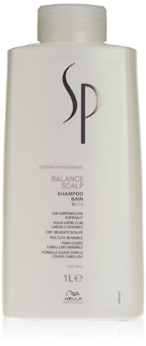 Wella SP System Professional Balance Scalp Shampoo, 1 L