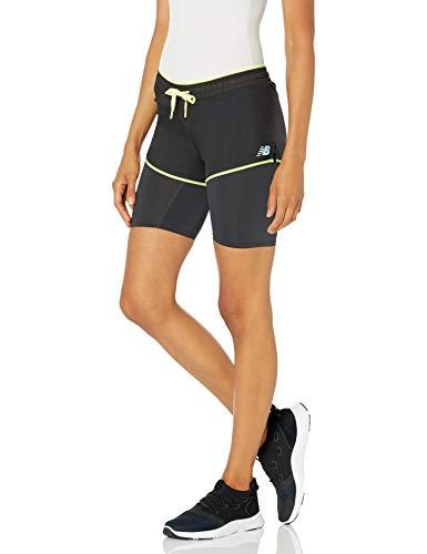 New Balance Pantalón Corto Q Speed Breathe 2 en 1 para Mujer, Q Speed Breathe 2 en 1 Short, Phantom, XS