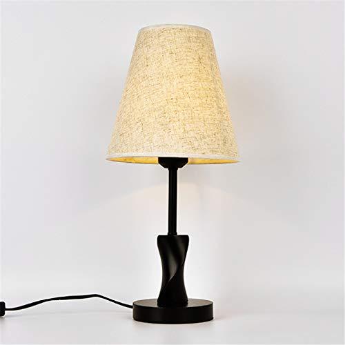 Simple Modern Table Lamp Bedroom Study Bedside Lamp Solid Wood Creative Birthday Gift Night Light Decoration EU/US/UK Plug