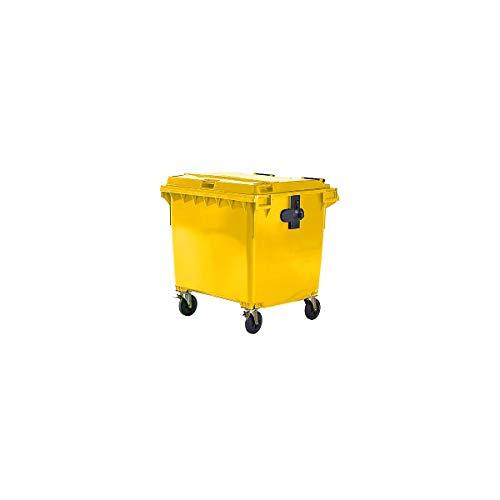 Rossignol Conteneur Korok 2 roues 120L//240L//340L Couleur:Gris//Jaune;Capacit/é:240L