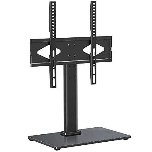 ELIVED TV Ständer Höhenverstellbar für 37-55 Zoll (94-140cm) Fernseher bis zu 40kg, Max VESA 400x400mm, TV Standfuss für OLED LCD LED Plasma Flach & Curved TVs, Stabil TV Stand EV016