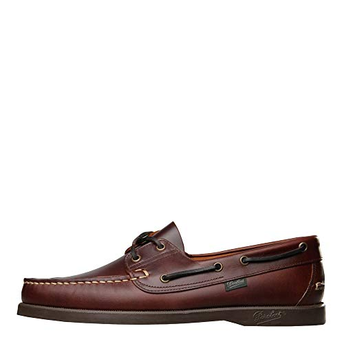 [パラブーツ] バース BARTH デッキシューズ ブラウン MARRON AMERICA 780001 モカシン【スリッポン 革靴 メンズ インポート】 (measurement_26_point_5_centimeters)