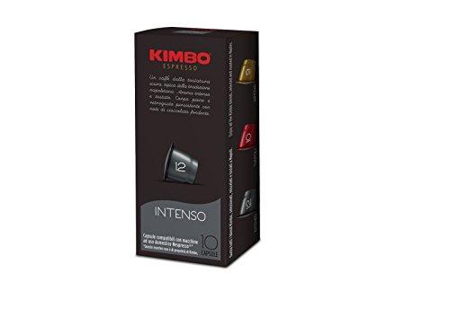 Kimbo Kapseln Kaffee Intenso Nespresso kompatibel (120Kapseln)