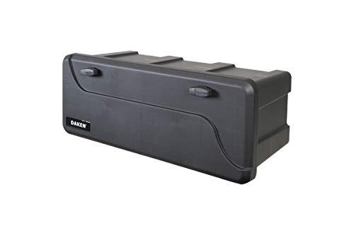 Deichselbox Daken Blackit L 750x300x355mm inkl. Vertikal Halter Werkzeugkasten Anhänger Staukiste - 6