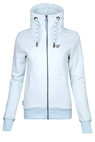 alife and Kickin VivianAK Sweatjacket XL, Ice