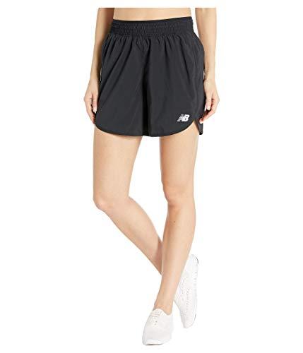New Balance Women's Accelerate 5 Inch Short, Black , Large