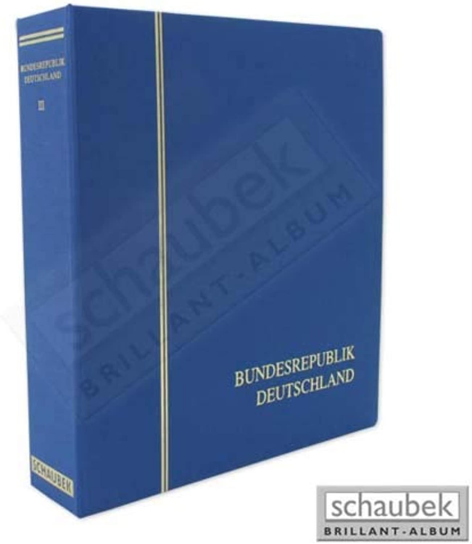 Schaubek Alben Brillant Album Bundesrepublik 1990-2001 Brillant L-64303B