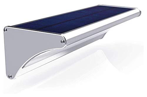 GYY Luz Solar al Aire Libre LED Lámpara Solar con Sensor de Movimiento Aluminio 24/48 / 60LED Impermeable al Aire Libre iluminación de Pared de jardín de jardín