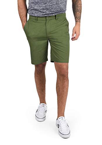 !Solid Thement Herren Chino Shorts Bermuda Kurze Hose Aus 100% Baumwolle Regular Fit, Größe:XL, Farbe:Dill (3217)