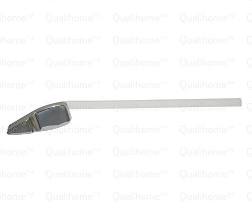 Toilet Tank Flush Lever Replacement for Mansfield, Chrome Finish Handle