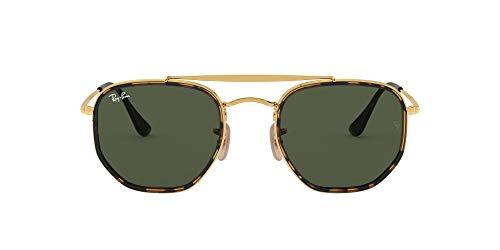 Ray-Ban 0RB3648M Montures de lunettes, Noir (Gold), 52.0 Mixte Adulte