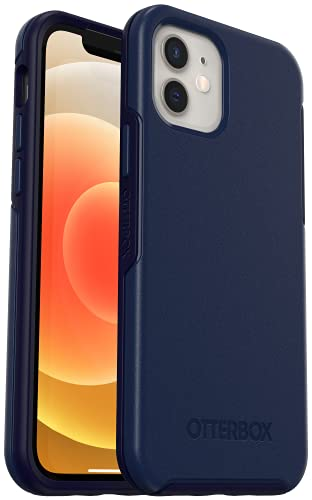 OtterBox Symmetry Case with MagSafe for iPhone 12 Mini (ONLY) Navy Captain Blue