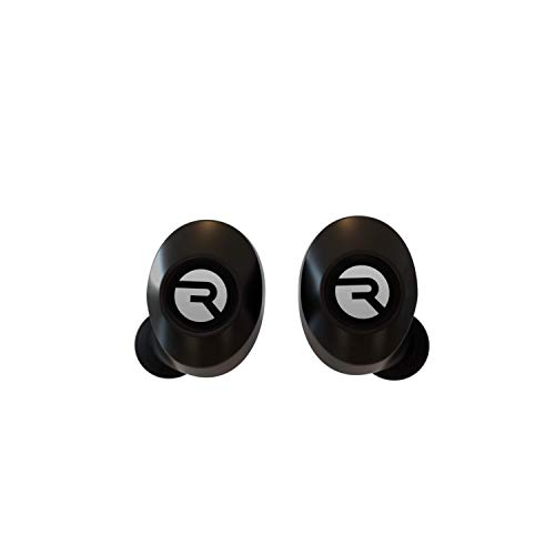 The Everyday Raycon Bluetooth Wireless Earbuds with Microphone- Stereo Sound in-Ear Bluetooth Headset E25 True Wireless Earbuds 24 Hours Playtime - Black