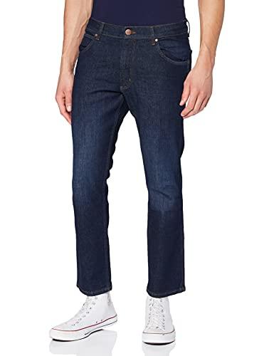 Wrangler Greensboro Jeans, Blu Easy, 32W / 31L Uomo
