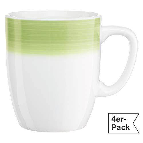 Gepolana Kaffeebecher 4er-Pack grün