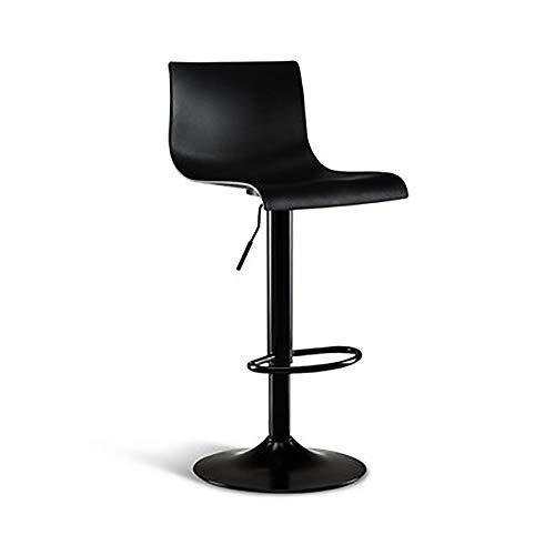 WJT-Barstool Bar Chair Lift Modern Minimalist Bar Stool High Stool Bar Chair Rotating High Stool Size: 38.5×38.5×60-80cm