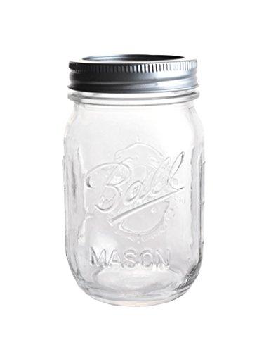 4 x Original Ball Mason Jar - ca. 0,5 l