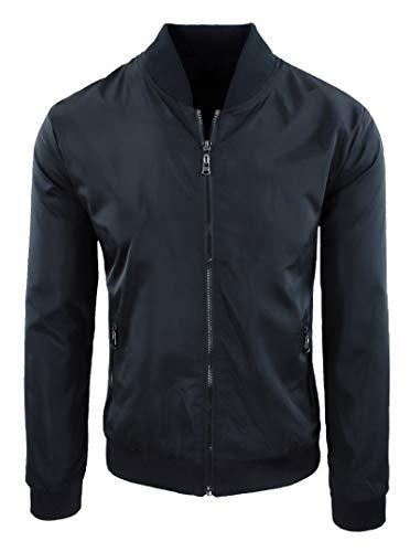 Blouson pour homme, décontracté, printemps, été, veste pour moto - - XXXL