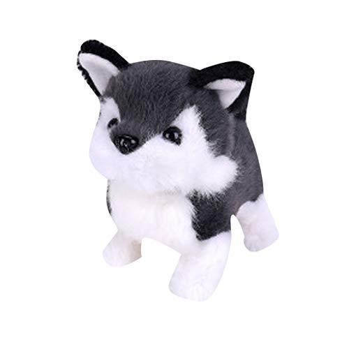 UOWEG Realistic Teddy Dog Lucky, Teddy Plüschpuppe, Cute Pudel Plüschpuppe Welpe Suffed Doll für Halloween, Weihnachten und Geburtstagsgeschenke