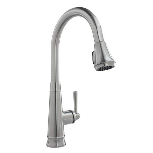 Mirabelle MIRXCHA101MSS Mirabelle MIRXCHA101 1.8 GPM Single Hole Pull-Down Kitchen Faucet