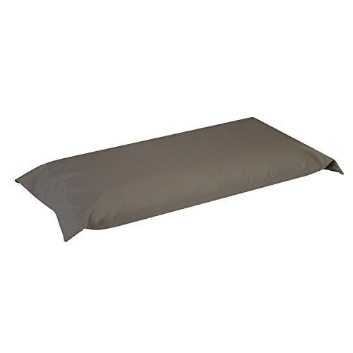 Pikolin Home - Funda de almohada 100% algodón, transpirable y de 150 hilos calidad extra en color gris