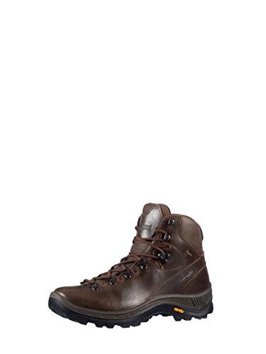 KAYLAND CUMBRIA GTX Leder Trekkingschuhe Wanderschuhe Bergschuhe VIBRAM 18016125(BRAUN - BROWN,42)
