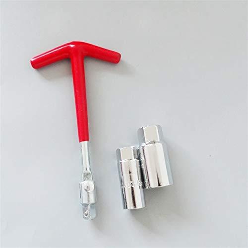 Kit de zócalo de zócalos de enchufe giratorio flexible de la barra de la barra de la barra de la barra de la llave de la bujía de la bujía de la chispa con 16 mm