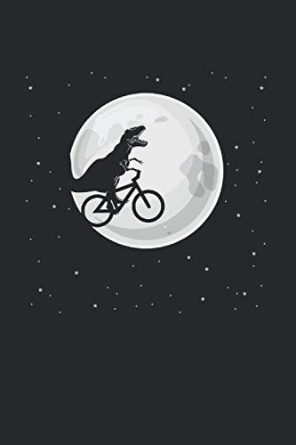 Trex Fahrrad: Din A5 Dino Bike Notizbuch Biker Dino Geschenk mit 120 Seiten