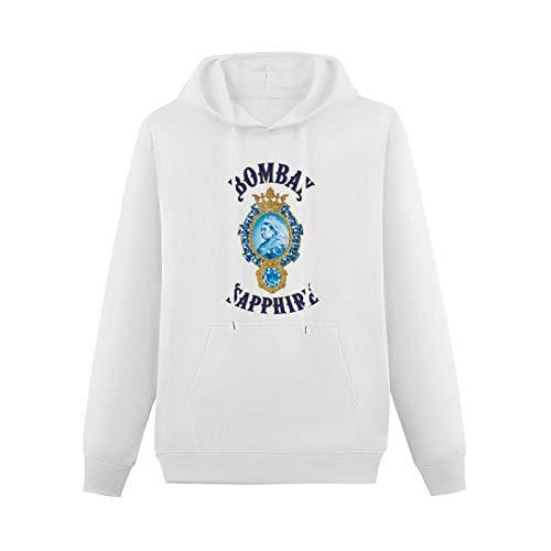 OWEN Trend Teenager Hoodie Sweatshirt Bombay Sapphire Gin Graphic Liquor Boy's Hot ChildWeißS