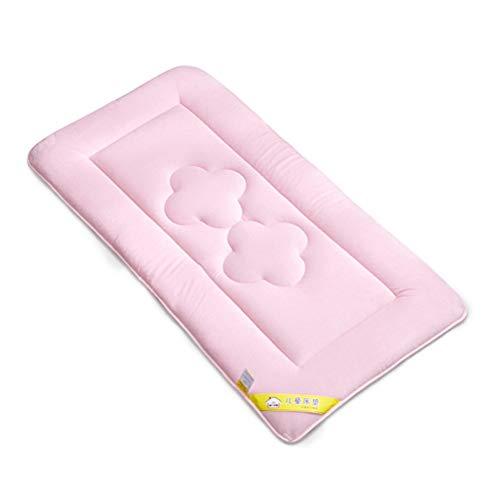Aiglen Baby Stilldecke Blatt Kristall Samt Neugeborenes Komfortable weiche Matratze Bettlaken Wickelunterlagen Abdeckungen wiederverwendbar 22 * 39 in (Color : Pink)