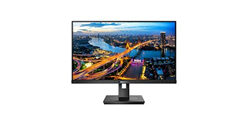 Philips 242B1V - 24 Zoll FHD Monitor, höhenverstellbar, Privatssphäre Modus (1920x1080, 75 Hz, DVI, HDMI, DisplayPort, USB Hub) schwarz