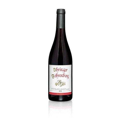 Spätburgunder,Barrique' - Ihringer Fohrenberg 2015 | Rotwein aus Deutschland | Trocken & Rot | WBK Glatt | Samtig & Kräftig im Geschmack (1x 0,75l)