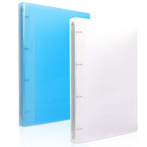 NatureTouch フォルダー 4穴 A4 クリアファイル システム手帳 高透明度 拡張ファイルフォルダー クリップボード 二つ折り クリアブック クリップファイル 収納ポッケあり インデックス付き 書類整理 クリヤーホルダー フラットファイル クリヤ