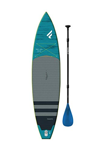 """Fanatic Ray Air Premium 11'6"""" Inflatable SUP Stand Up Paddle Boarding Package - Board, Bag, Pump & Carbon 25 Paddle"""