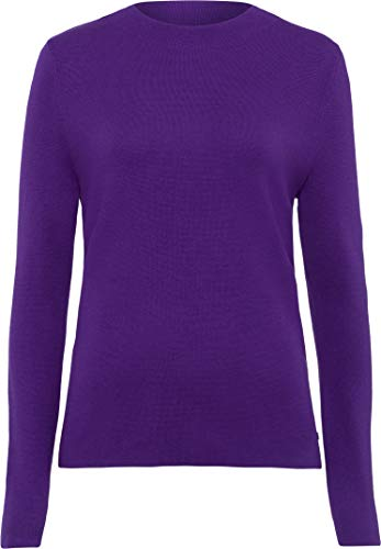 BRAX Damen Style Lee Pullover, Purple, 44