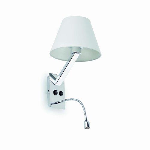 FARO BARCELONA Eclairage Intérieur. Moma-2 LED Lampe Applique Blanc