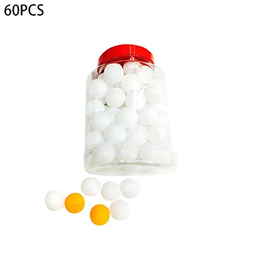 Why Should You Buy Kudden 60pcs/Set Table Tennis Balls 40mm PVC Professional Training Ping Pong Ball...