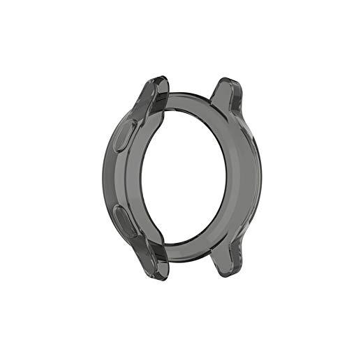 XUEMEI Marco del Protector de la Caja para Garmin Vivoactive 4 / 4S Smart Watch for Vivoactive 4S / 4 Pantalla Cubierta Protectora Shell (Color : Black, Size : Garmin Vivoactive 4)